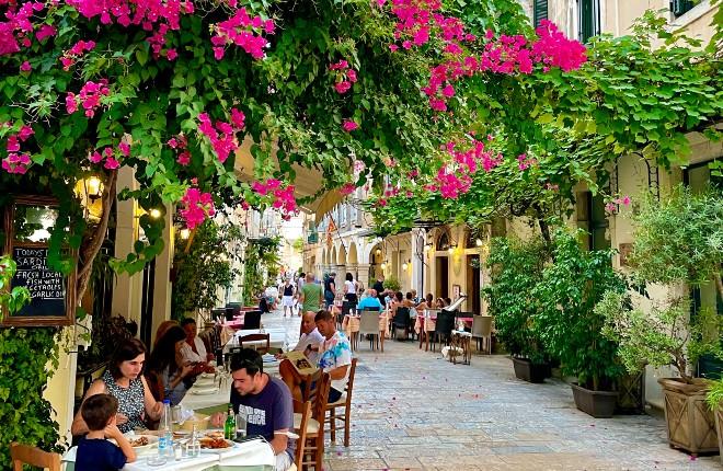 corfu is europa's meest stressvrije bestemming