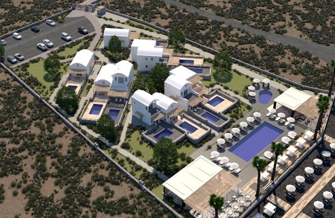Hilton opent eerste resort op Santorini