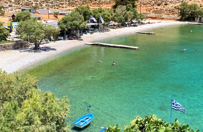 Palionisos baai op Kalymnos
