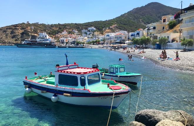 Diafani Karpathos vissersdorp