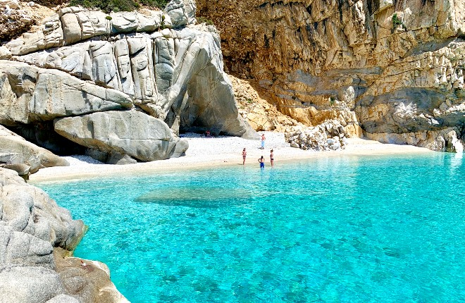Seychelles beach op Ikaria in Griekenland